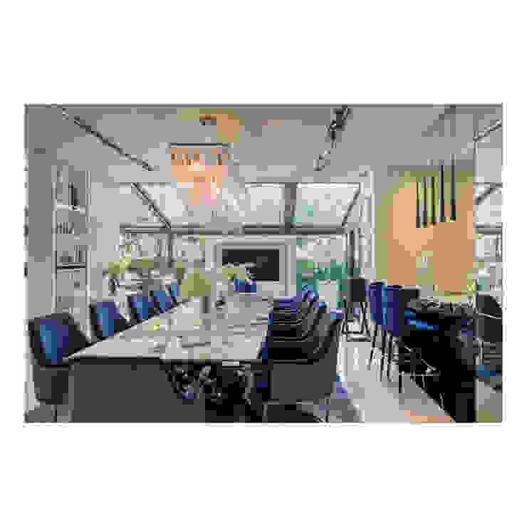 Thaan Studio Столовая комната в стиле модерн