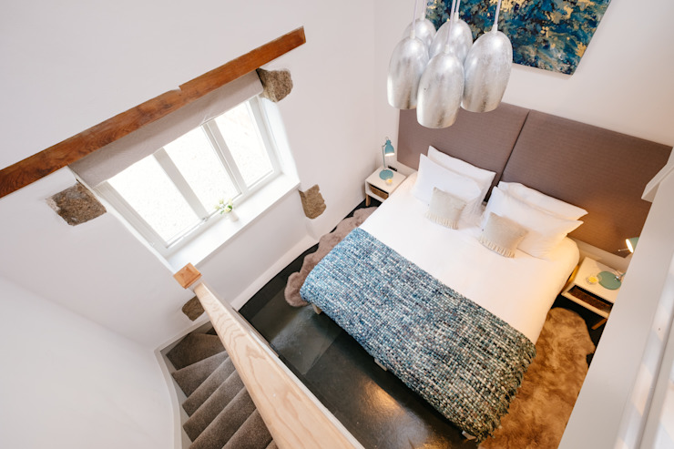 Mill Barn, Cardinham Kamar Tidur Gaya Country Oleh Perfect Stays Country