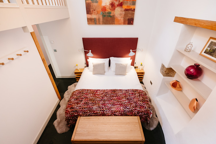 Mill Barn, Cardinham Quartos campestres por Perfect Stays Campestre