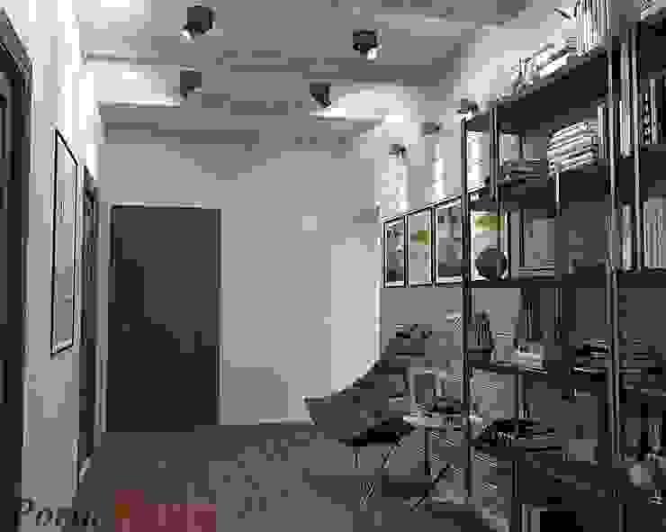 Scandinavian style corridor, hallway& stairs by Дизайн студія 'Porta Rossa' Scandinavian