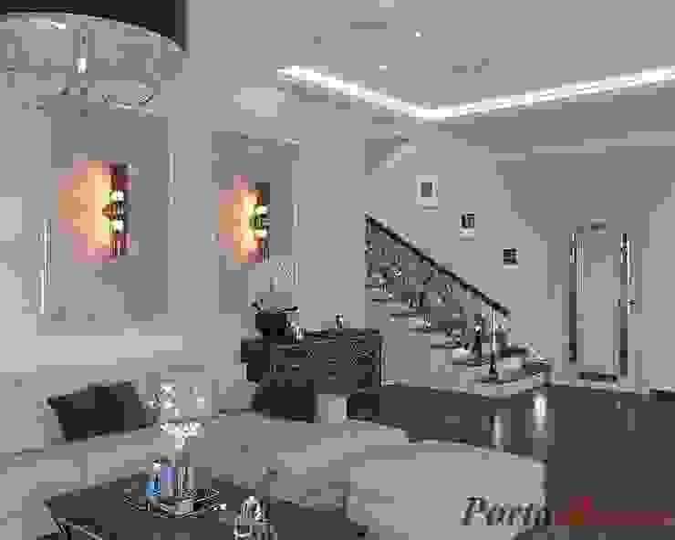 Salones de estilo clásico de Дизайн студія 'Porta Rossa' Clásico