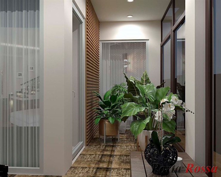 Pasillos, vestíbulos y escaleras de estilo clásico de Дизайн студія 'Porta Rossa' Clásico