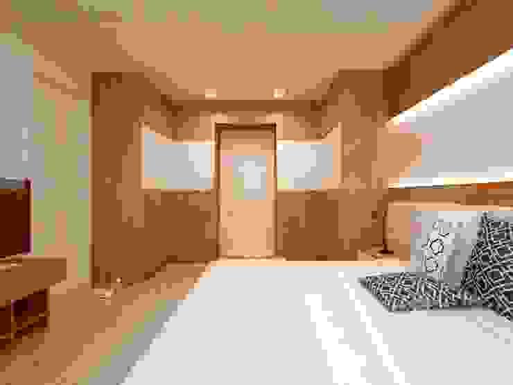 Modern Bedroom by Anastasia Reicher Interior Design & Decoration in Wien Modern Wood Wood effect
