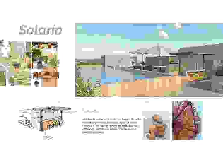 Andrea Loya Tropical style pool