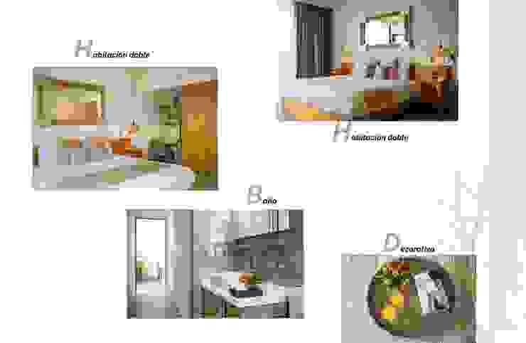 Andrea Loya Tropical style bedroom