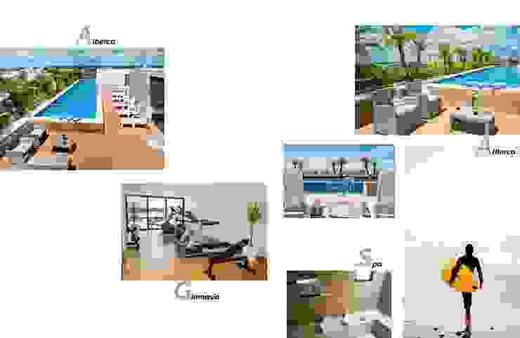 Andrea Loya Tropical style gym