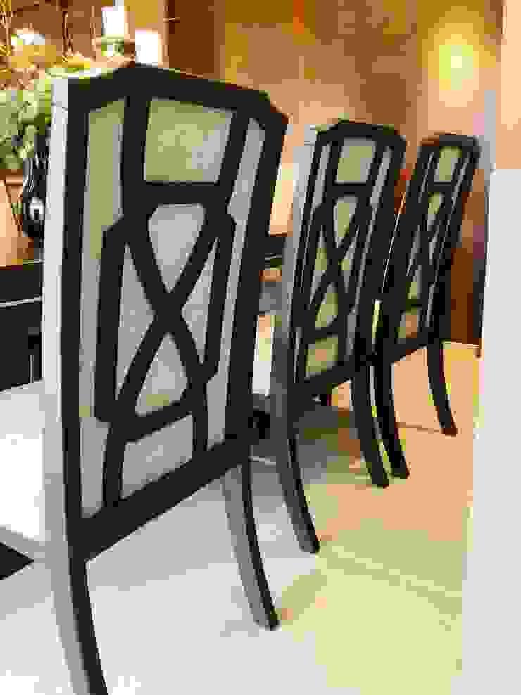 Sillas Ashley furniture de Oscar Saavedra Diseño y Decoración Spa Moderno