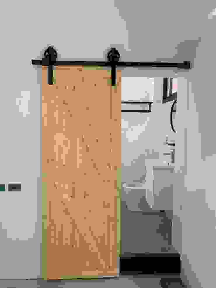 浴室完成後的樣子 根據 寶瓏室內裝修有限公司 北歐風