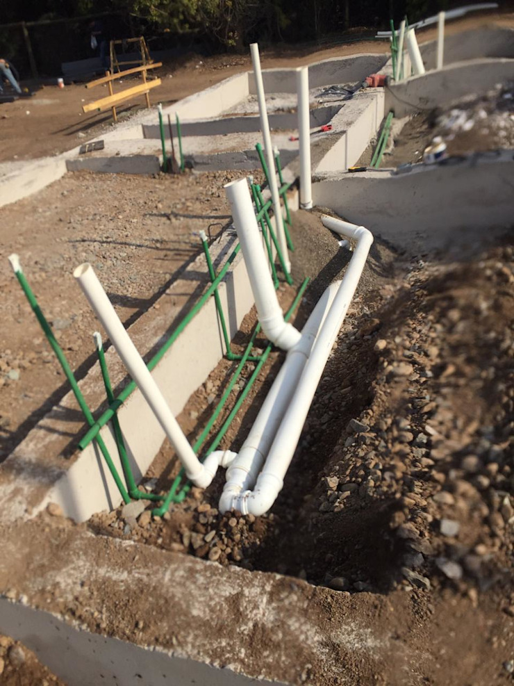 Obra en construcción de Constructora CYB Spa Mediterráneo