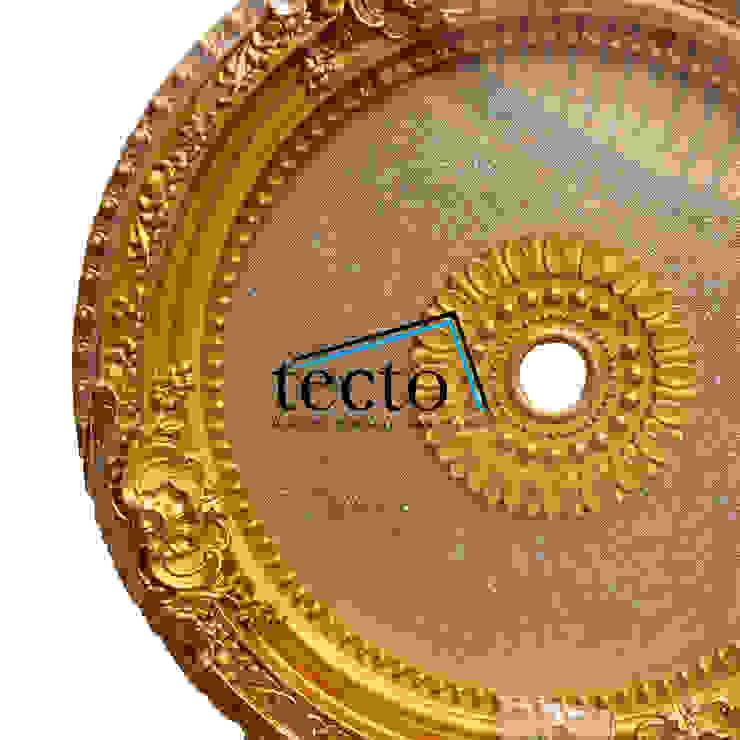 Hiasan Lampu Plafon 60 Cm IR-60-S02 Lamplate - Dome Plafon Oleh Tecto Plafon Klasik Plastik