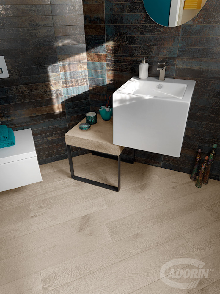 Cadorin Group Srl - Italian craftsmanship production Wood flooring and Coverings Modern Bathroom