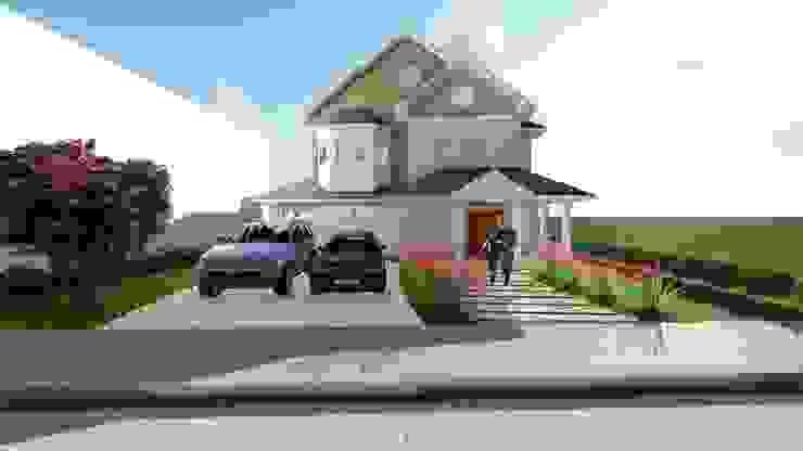 Country style houses by Tuti Arquitetura e Inovação Country