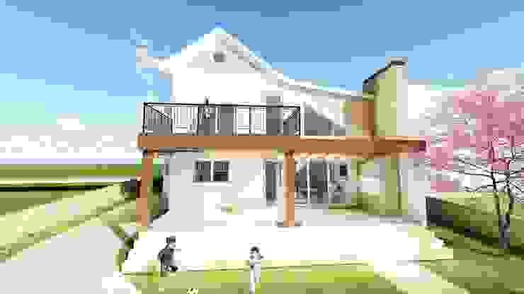 Casas de estilo rural de Tuti Arquitetura e Inovação Rural