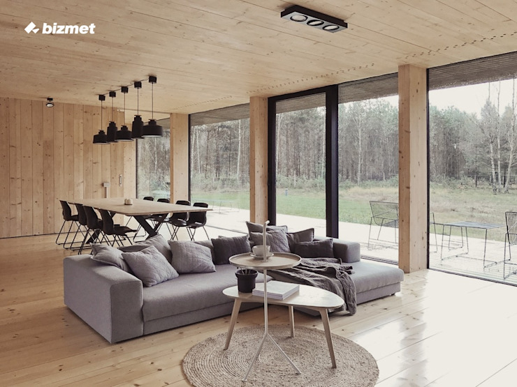 by Przedsiębiorstwo Bizmet Spółka z o.o. Minimalist Wood Wood effect