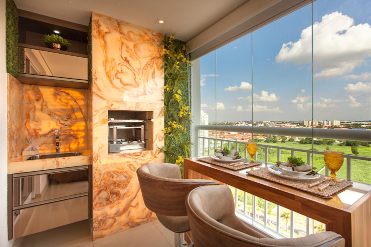 Apartamento Cavalli por Designer de Interiores e Paisagista Iara Kílaris Moderno