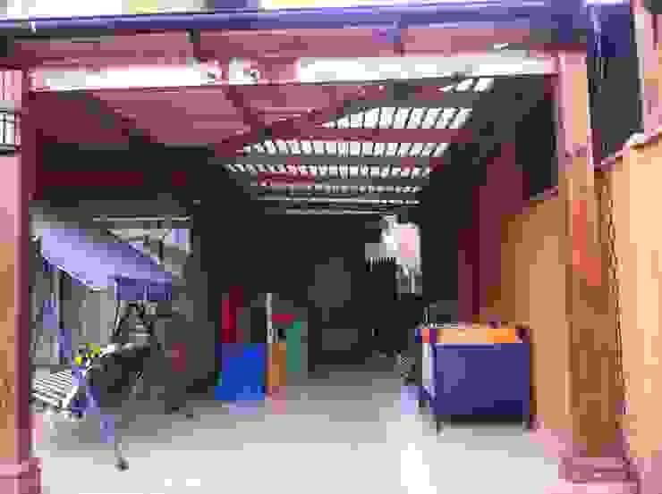 Terrazas, Quinchos Balcones y terrazas rústicos de JORGE PALMA PAPIC E.I.R.L. Rústico