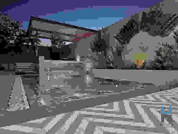 Piscina de Heftye Arquitectura Moderno Hierro/Acero