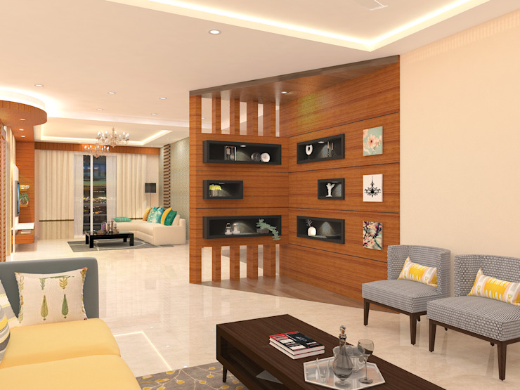 Apartment Interiors Honeybee Interior Designers Scandinavian style living room