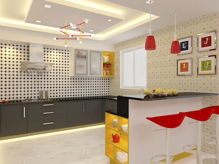 Honeybee Interior Designers Kitchen