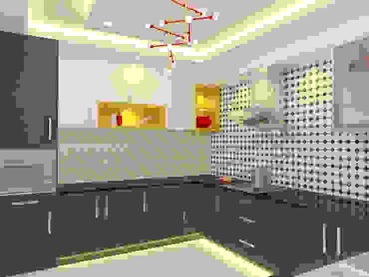 Apartment Interiors Honeybee Interior Designers Scandinavian style kitchen