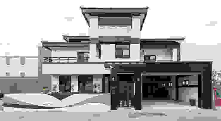 德廚臻品 室內設計公司 Casas de estilo asiático