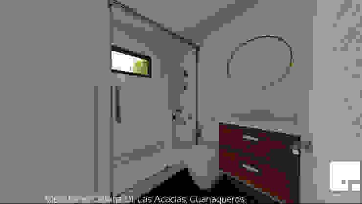 Cabaña 01 - Baño Baños de estilo moderno de Territorio Arquitectura y Construccion - La Serena Moderno