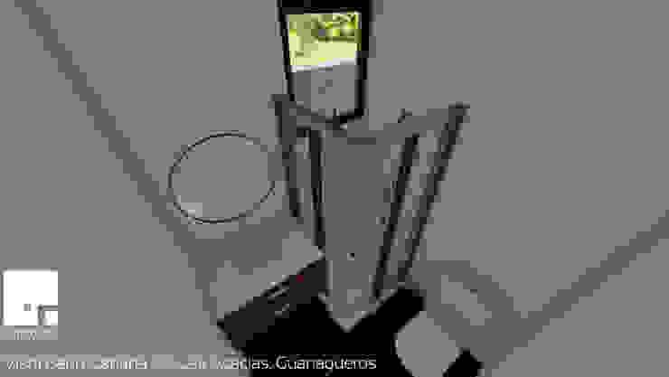 Cabaña 02 - Baño Baños de estilo moderno de Territorio Arquitectura y Construccion - La Serena Moderno