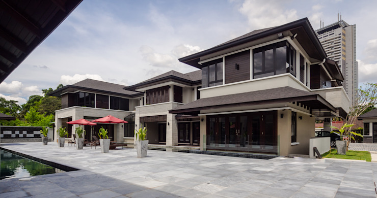 Luxury Bungalows @ Lorong Gurney Kuala Lumpur Mode Architects Sdn Bhd Tropical style houses