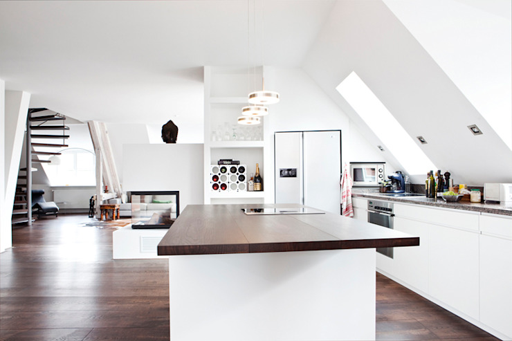 Built-in kitchens by RGenau Industries GmbH & Co. KG