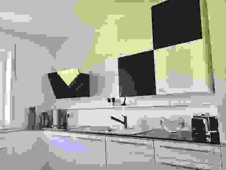 مطبخ ذو قطع مدمجة تنفيذ higloss-design.de - Ihr Küchenhersteller, حداثي MDF