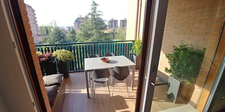 Residenziale - HOME SWEET HOME Luca Palmisano Architetto Balcone