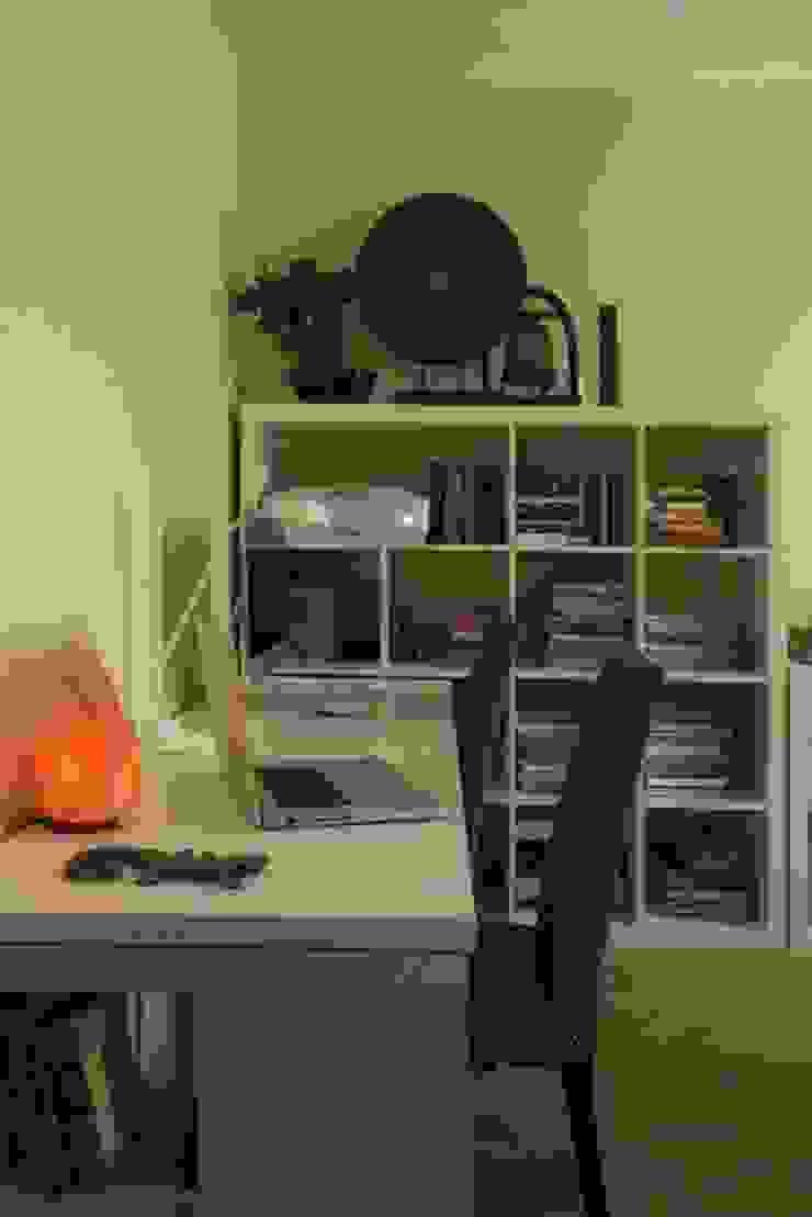Irina Yakushina Ruang Studi/Kantor Minimalis Yellow