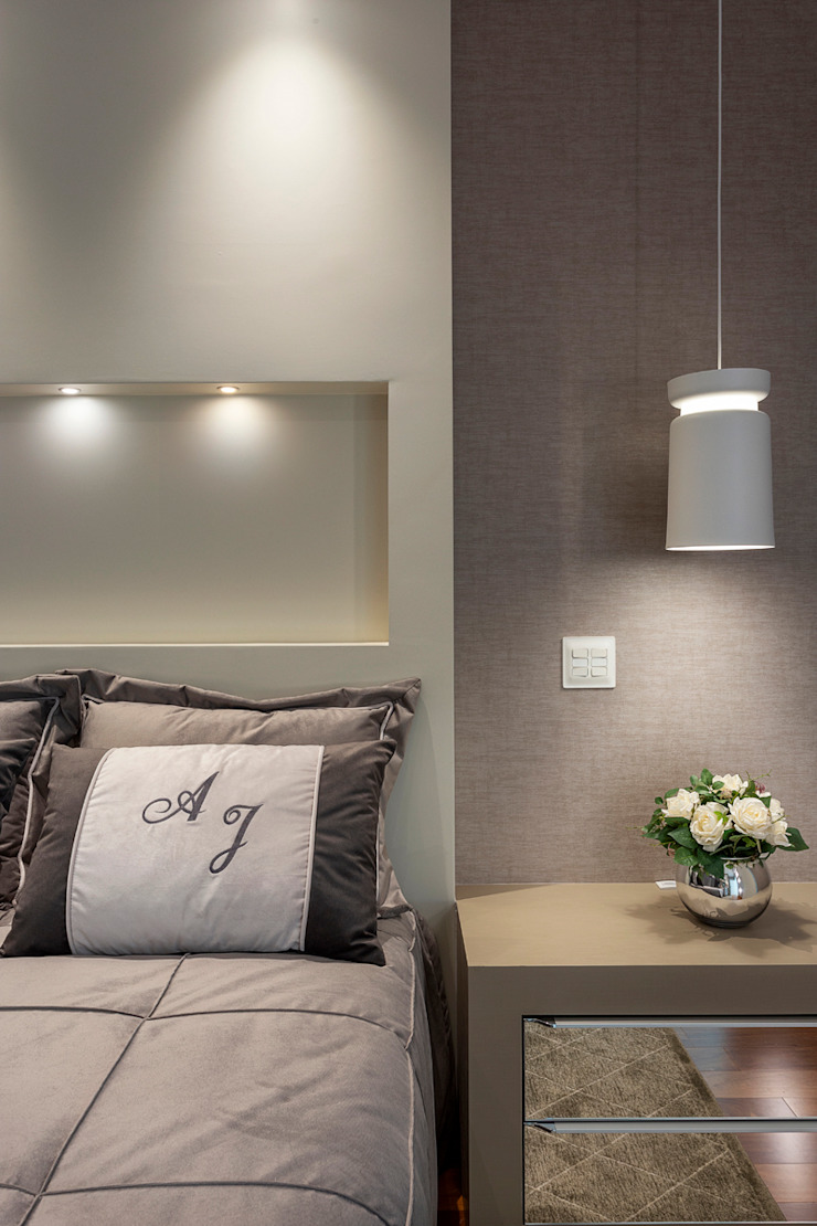Moderne Schlafzimmer von Designer de Interiores e Paisagista Iara Kílaris Modern