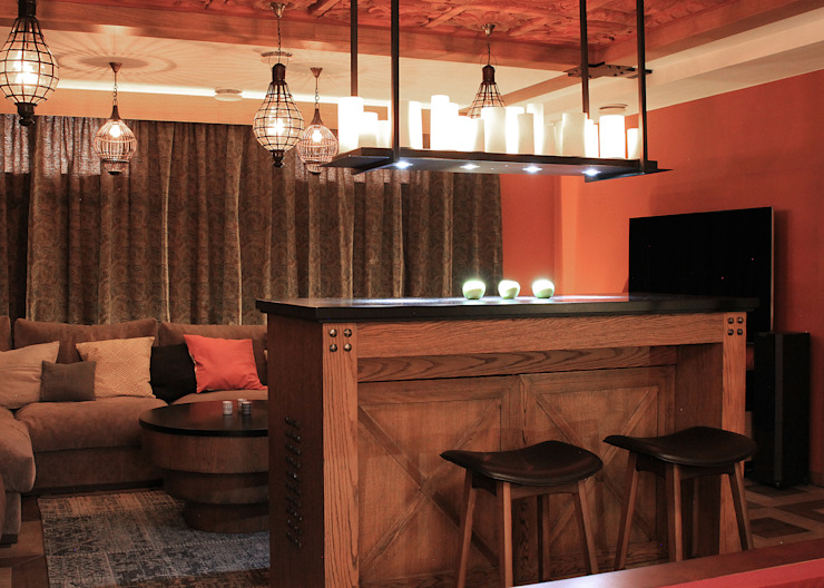 Загородный дом в Юкках Винный погреб в стиле минимализм от Wide Design Group Минимализм