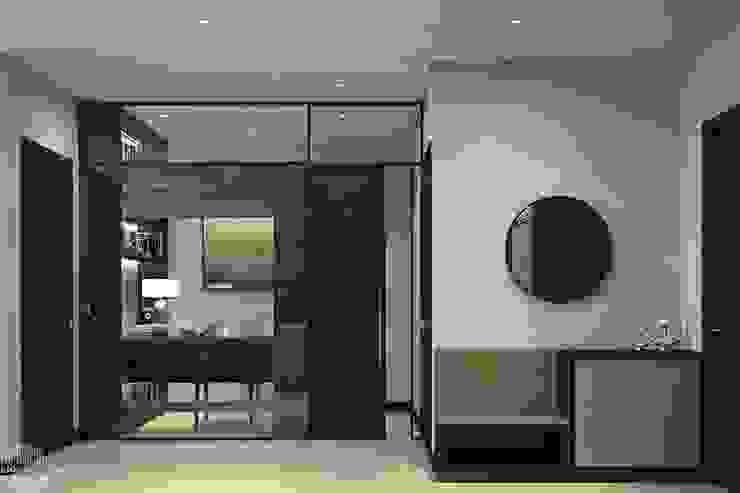 Thiết kế thi công nội thất chung cư Hà Đô HCM Phòng ăn phong cách hiện đại bởi Lio Decor Hiện đại