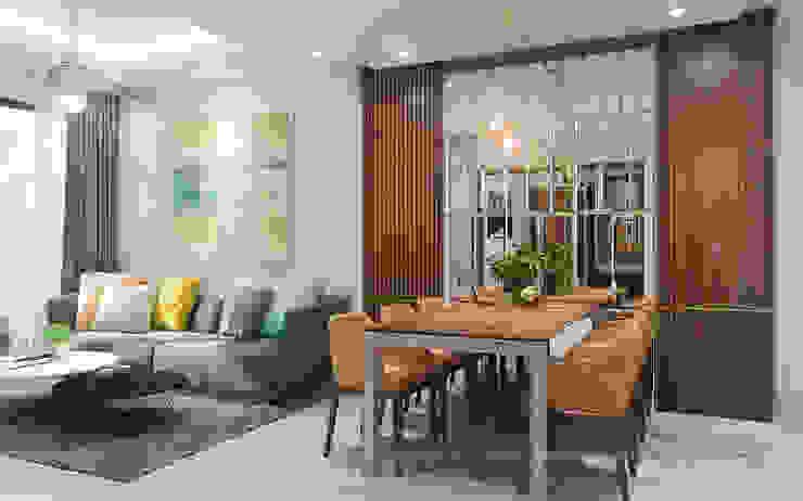 Phòng khách chung cư bởi Lio Decor Hiện đại