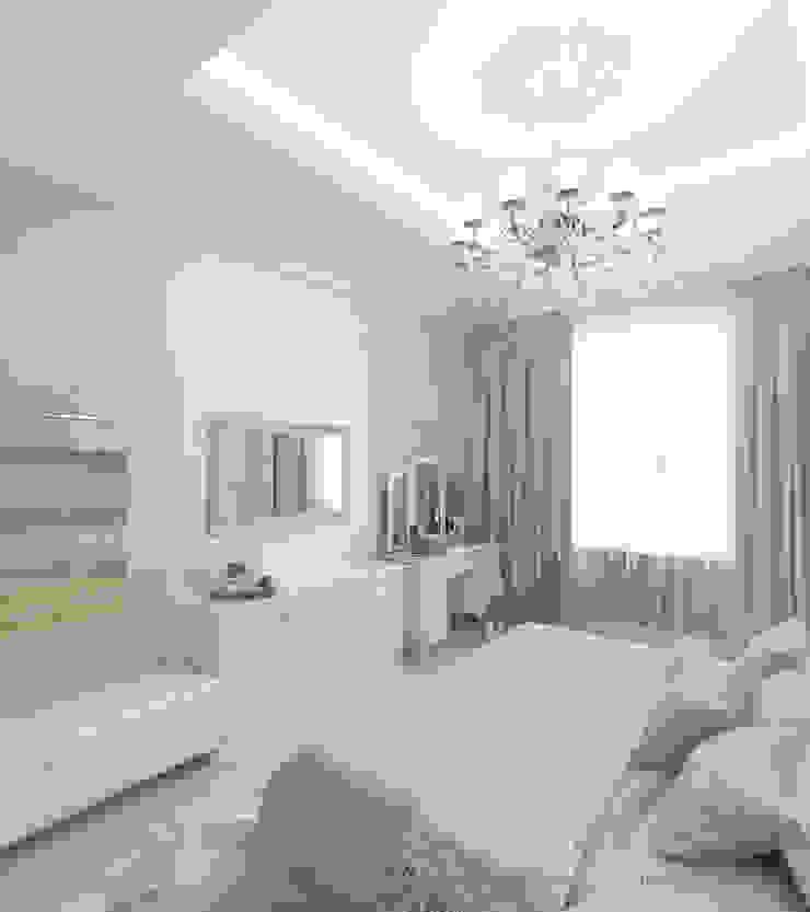 Квартира на Садовой, г. Москва lesadesign Спальня в классическом стиле Бирюзовый