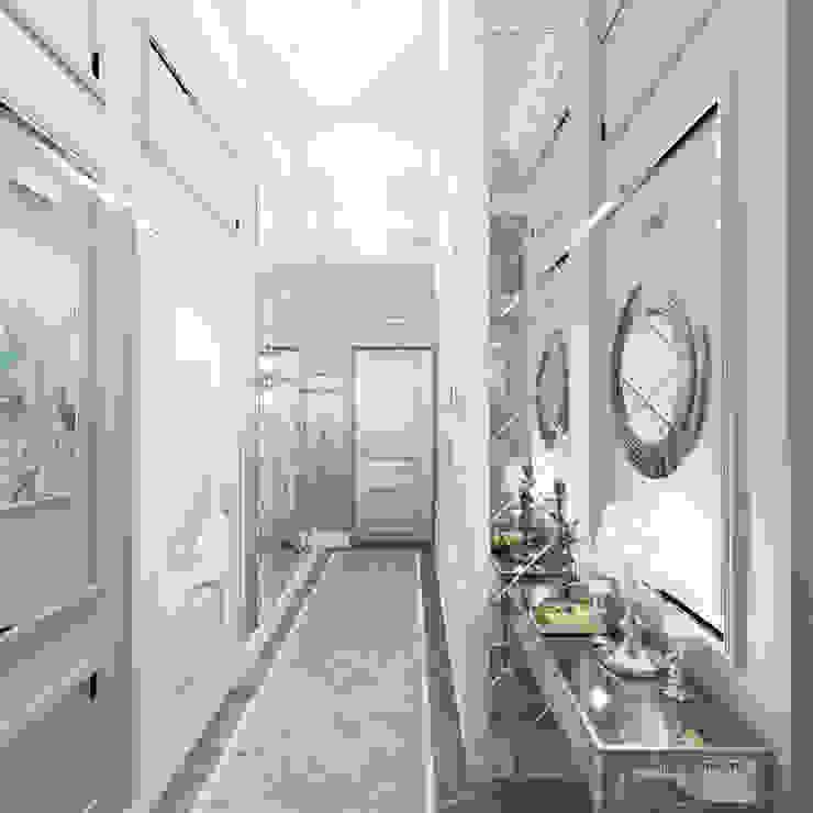 Квартира на Садовой, г. Москва lesadesign Коридор, прихожая и лестница в классическом стиле Серый