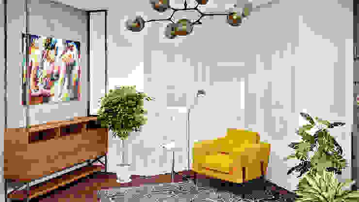 Дизайн проект в сучасному стилі м. Чернігів (117 кв. м) Artlike Вітальня