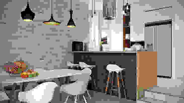 Дизайн проект Дуплексу в Скандинавському стилі в с. Гатне (137 кв. м) by Artlike Скандинавський