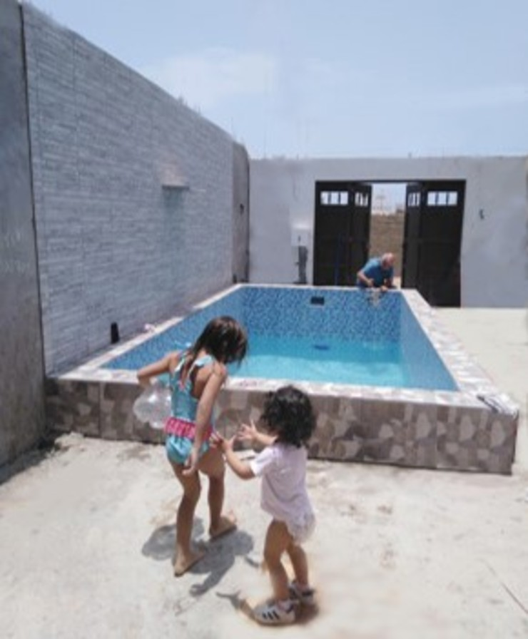 Piscina familiar de Pool Solei Clásico