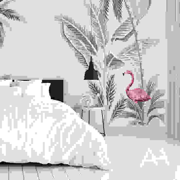 Tropical Paredes y pisos de estilo tropical de Alba Home Tropical