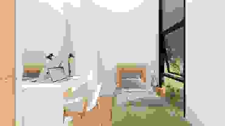 2-Storey Scandinavian-Inspired Residence: scandinavian  by Structura Architects, Scandinavian