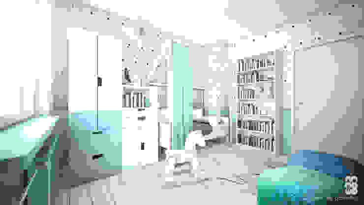 NA NO WO ARCHITEKCI Nursery/kid's room
