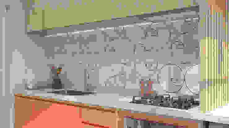 Cozinha Athos por Estúdio 465 - Arquitetura & Interiores Moderno MDF