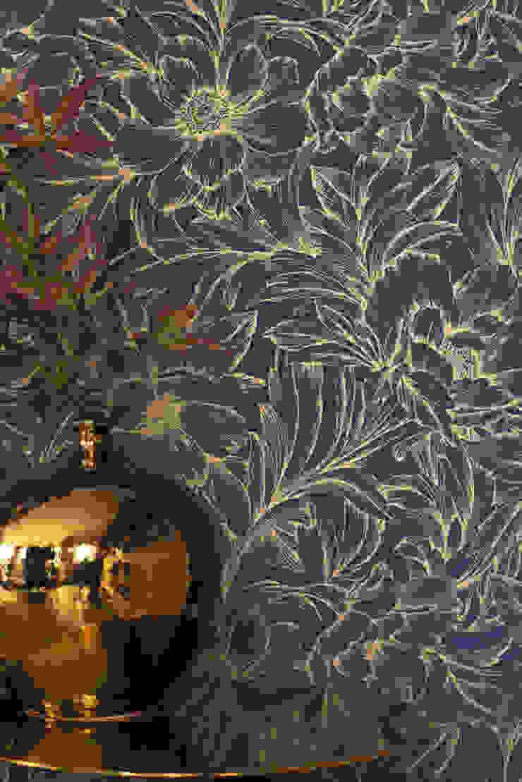 TapetenStudio.de Paredes y pisos de estilo clásico Azul