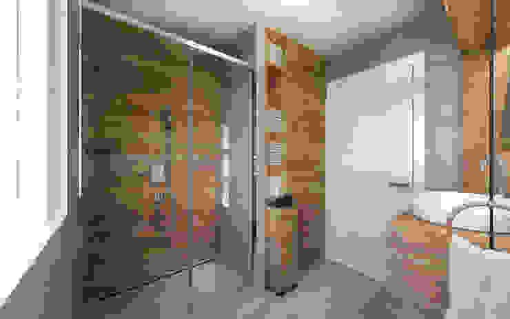 Bagno FF Desearq Studio _ architettura e interior design a Milano Bagno in stile rustico