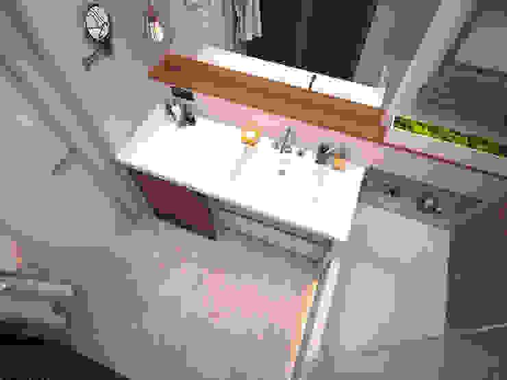 Ванна Ванная комната в стиле минимализм от ekovaleva.prodesign Минимализм
