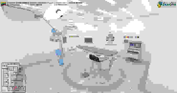 SALA DE OPERACIONES (QUIROFANO) de LAC ARQUITECTURA HOSPITALARIA Moderno