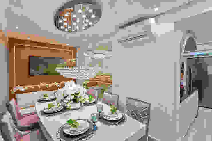 Ruang Makan Modern Oleh Designer de Interiores e Paisagista Iara Kílaris Modern